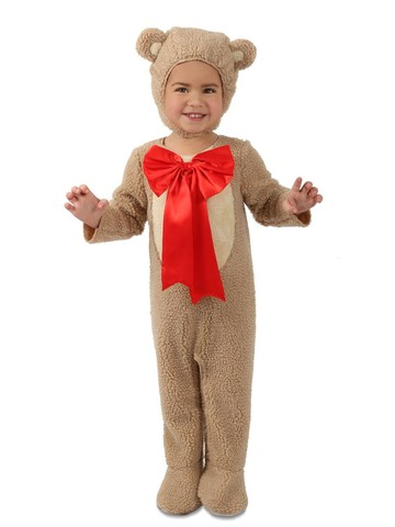 Cuddly Teddy Bear Costume for Toddlers
