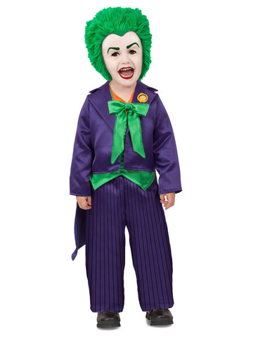 DC Batman Comics Joker Toddler Costume