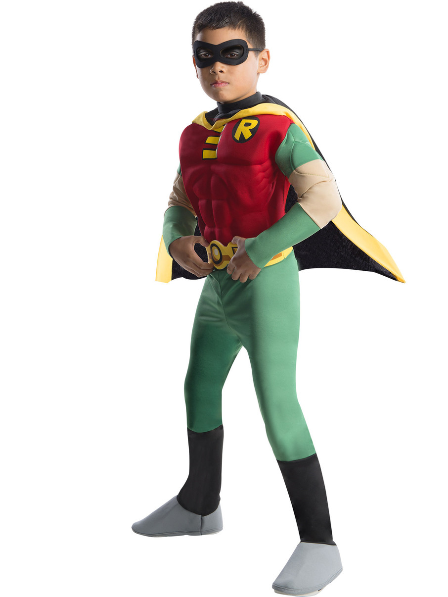 View larger image of Toddler Deluxe Muscle Chest Robin Costume