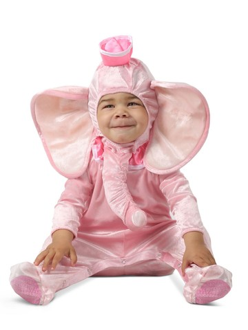 Ellie the Pink Elephant Toddler Costume