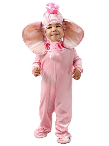 Elle the Pink Elephant Costume for Toddlers