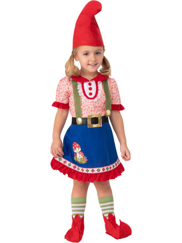 Toddler Girls Fern The Gnome Costume