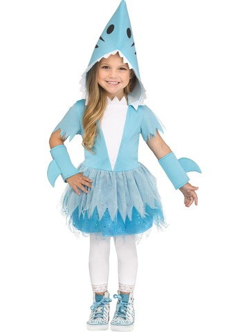 Silly Shark Girls Costume for Toddlers