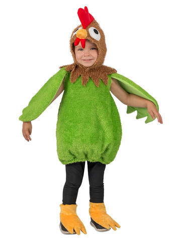 Green Rooster Costume for Toddlers