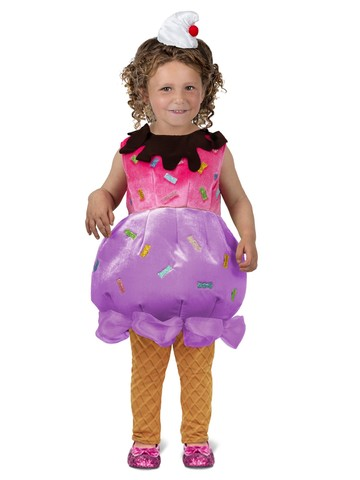 Ice Cream Sundae Costume for Toddlers