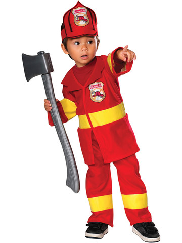 Toddler Junior Fireman Costume