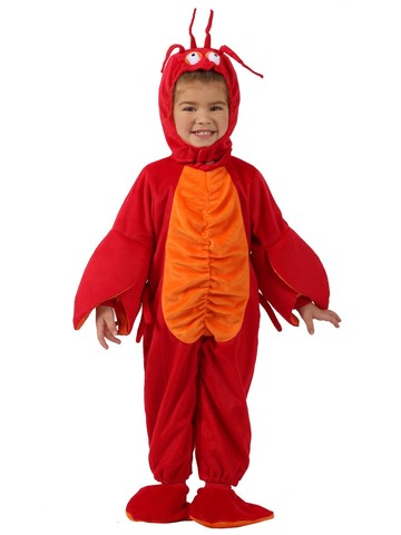 Littlest Lobster Costume for Toddlers