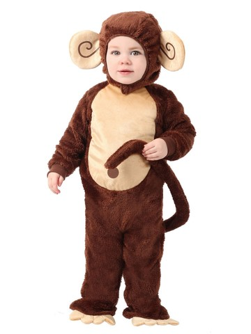 Littlest Monkey Costume for Toddlers