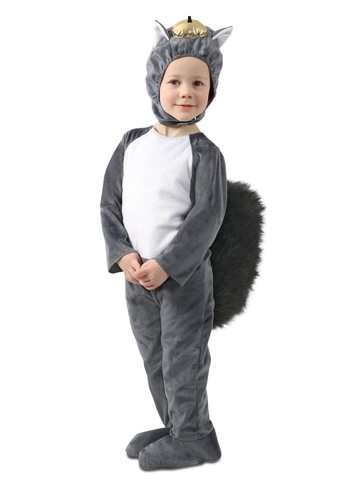 Nibbles the Squirrel Costume for Toddlers