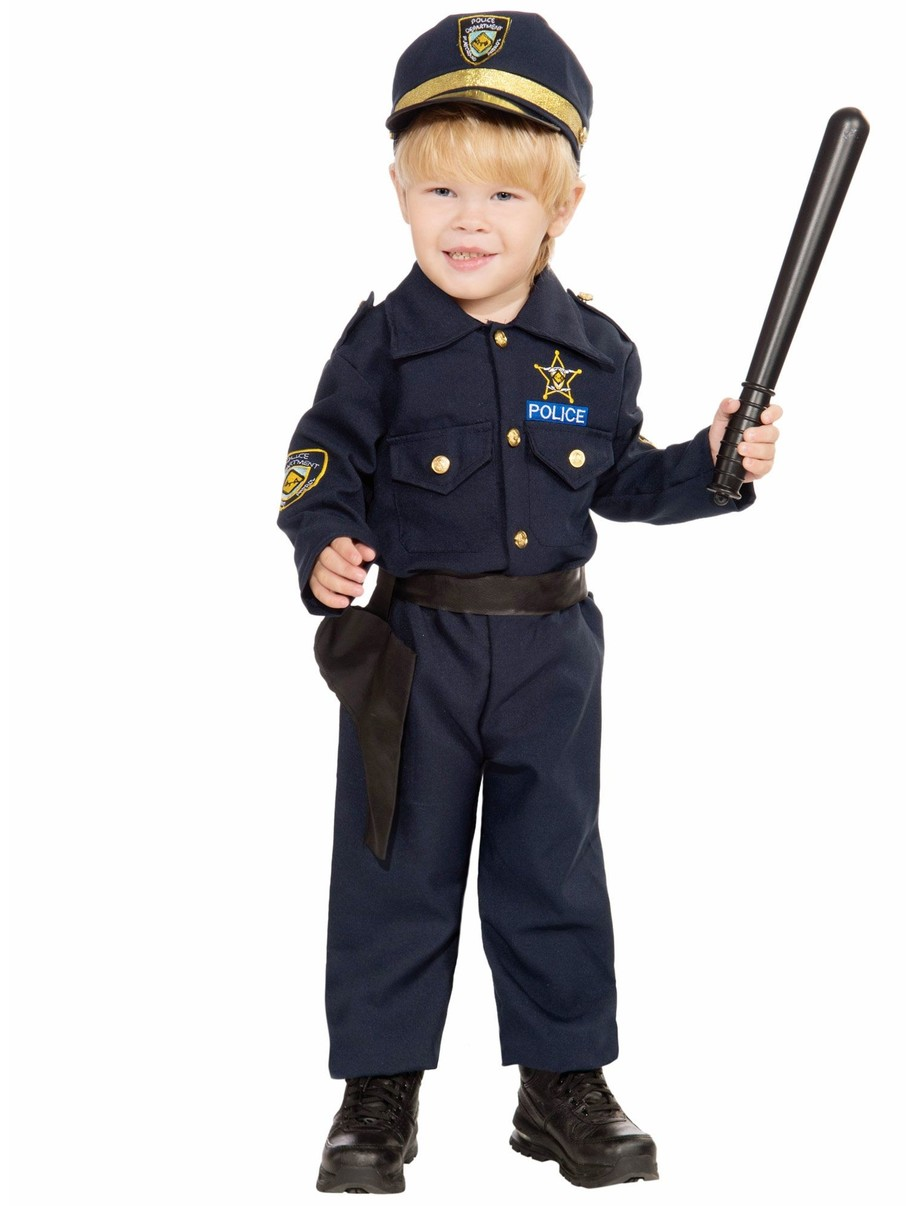 View larger image of Toddler Police Boy Costume
