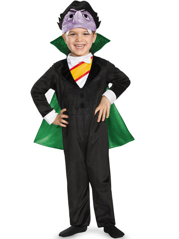 Toddler The Count Sesame Street Deluxe Costume