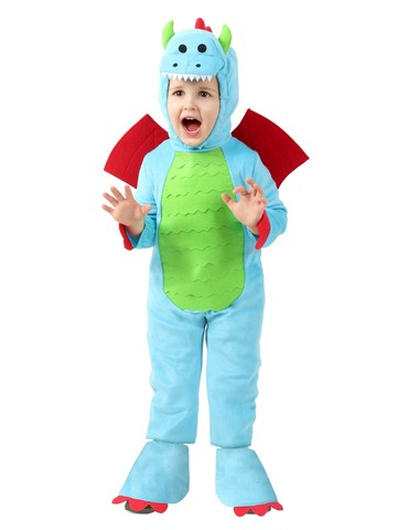 Tiny the Fierce Dragon Costume for Toddlers