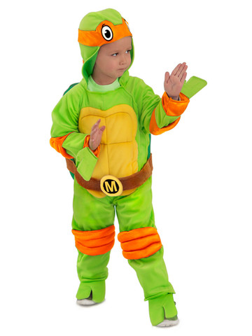 Teenage Mutant Ninja Turtles Michelangelo Jumpsuit For Toddlers