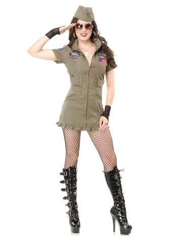 Women's Tom Cat Seal Team Costume