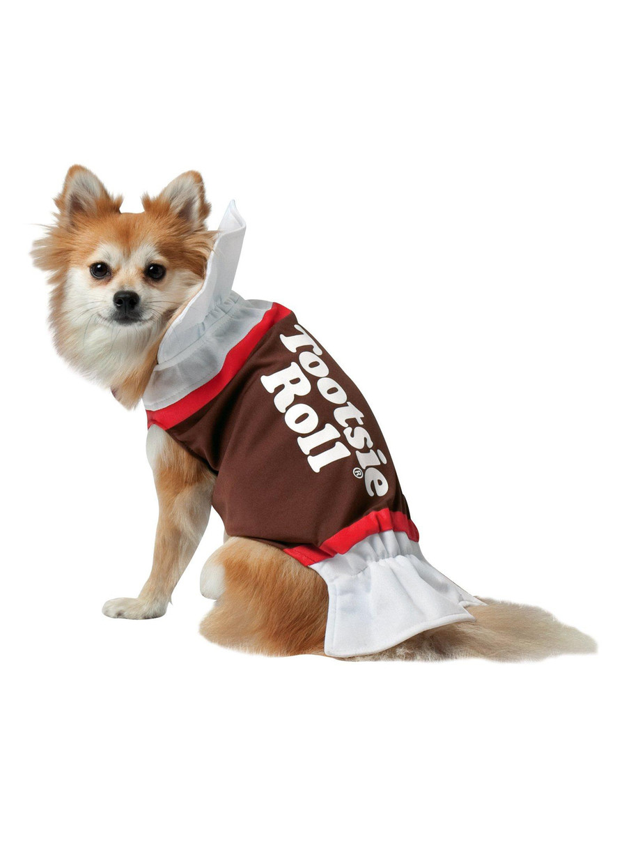 View larger image of Tootsie Roll Dog Costume