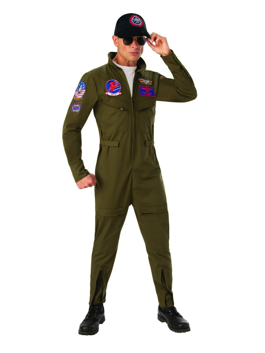 View larger image of Adult Deluxe Top Gun Costume