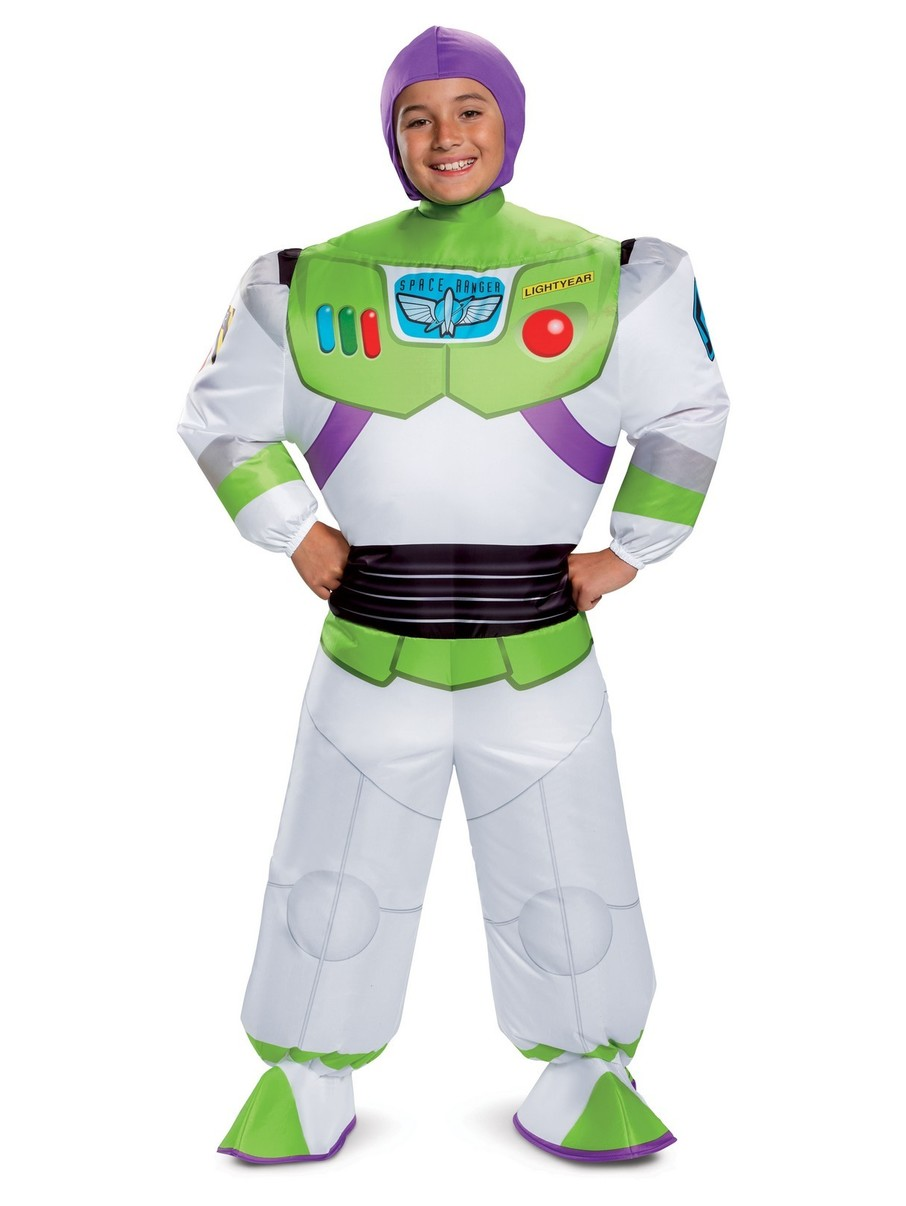 View larger image of Toy Story 4: Buzz Lightyear Inflatable Kid's Costume