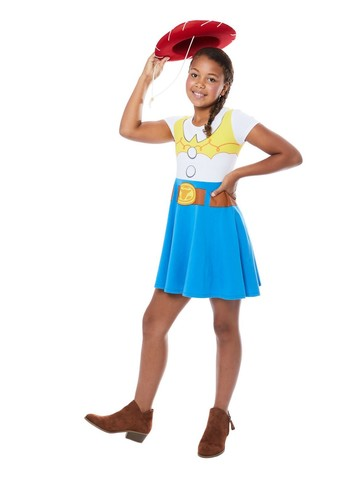 Toy Story 4 Child Jessie Dress Costume
