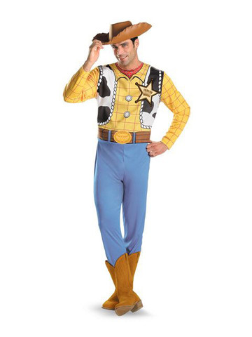Toy Story Woody Adult Plus Costume