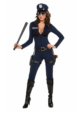 Sexy Traffic Cop Womens Costume