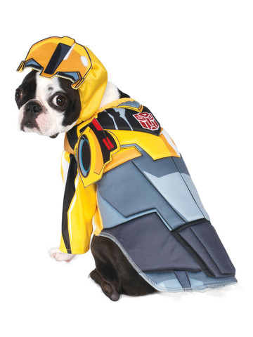 Deluxe Bumble Bee Transformers Costume for Pets