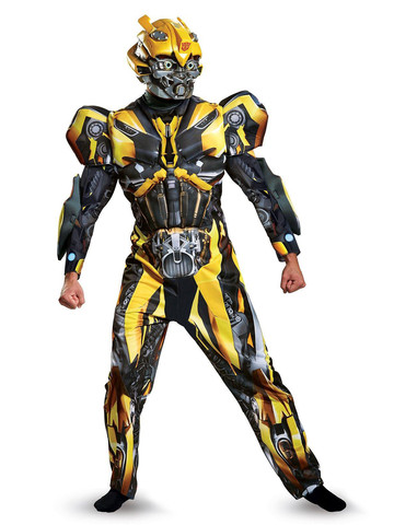 Adult Transformers - Bumblebee Costume Deluxe