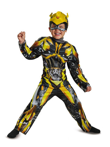 Toddler Transformers - Bumblebee Muscle Costume