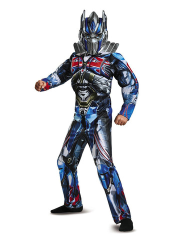 Kids Transformers - Optimus Prime Muscle Costume