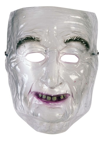 Transparent Old Man Mask