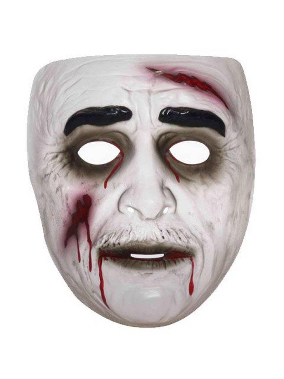 View larger image of Clear Zombie Mask for Men