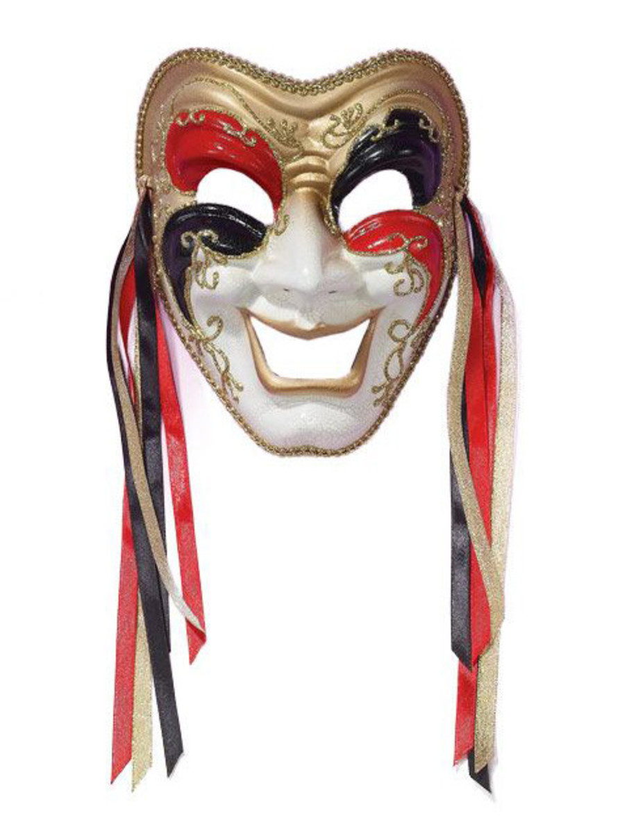 View larger image of Tri Color Comedy Mask