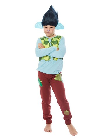 Trolls World Tour Child Branch Shirt and Pants Costume