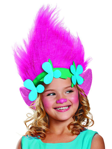 Trolls- Poppy Character Child Headband