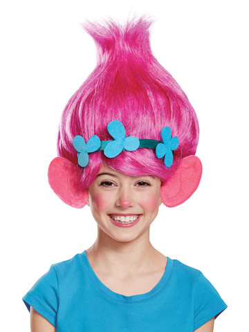 Kids Trolls - Poppy Wig