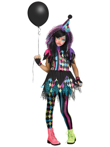 Kids Twisted Circus Costume