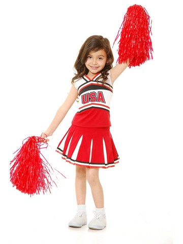 USA Girl Cheerleader Costume
