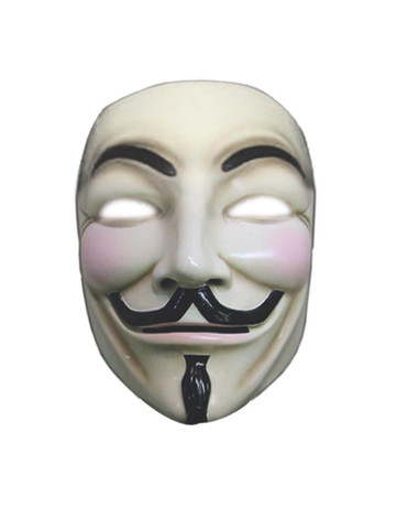 V For Vendetta Deluxe Adult Mask
