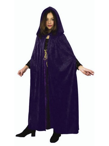 Velvet Childrens Unisex Vampire Cloak