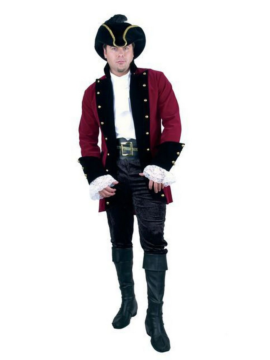 View larger image of Velvet Pirate Prince Plus-Size Jacket for Men