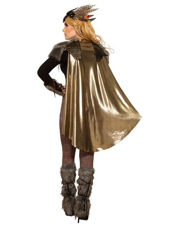 Valkyrie Cape and Shoulder Pads
