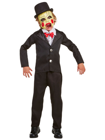 Kids Villainous Ventriloquist Costume