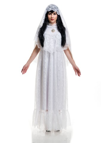 Women's Vintage Ghost Bride Costume