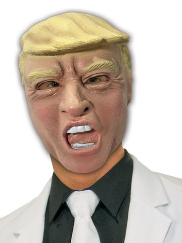 Vinyl Trump Mask for Adults