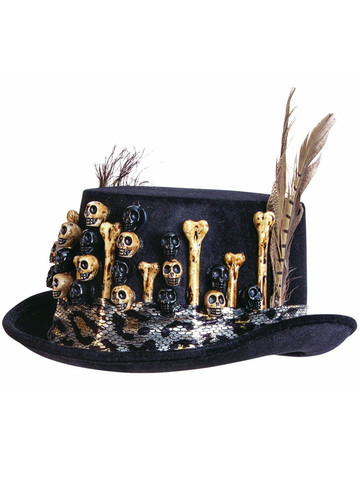 Voodoo Top Hat for Adults