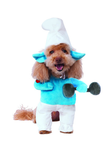 Walking Pet Costume - Hefty Smurf