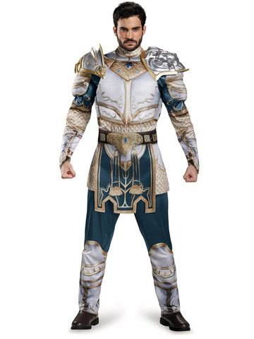 Warcraft Adult King Llane Classic Muscle Costume