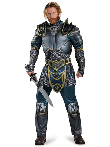 Warcraft Adult Lothar Classic Muscle Costume
