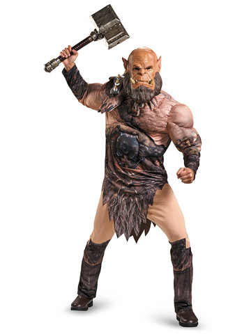 Warcraft Adult Ogrim Deluxe Muscle Costume