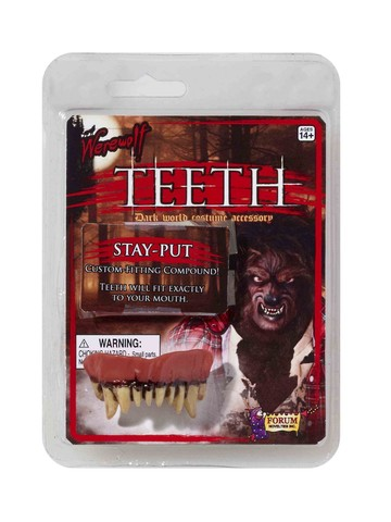 Custom Fit Werewolf Teeth