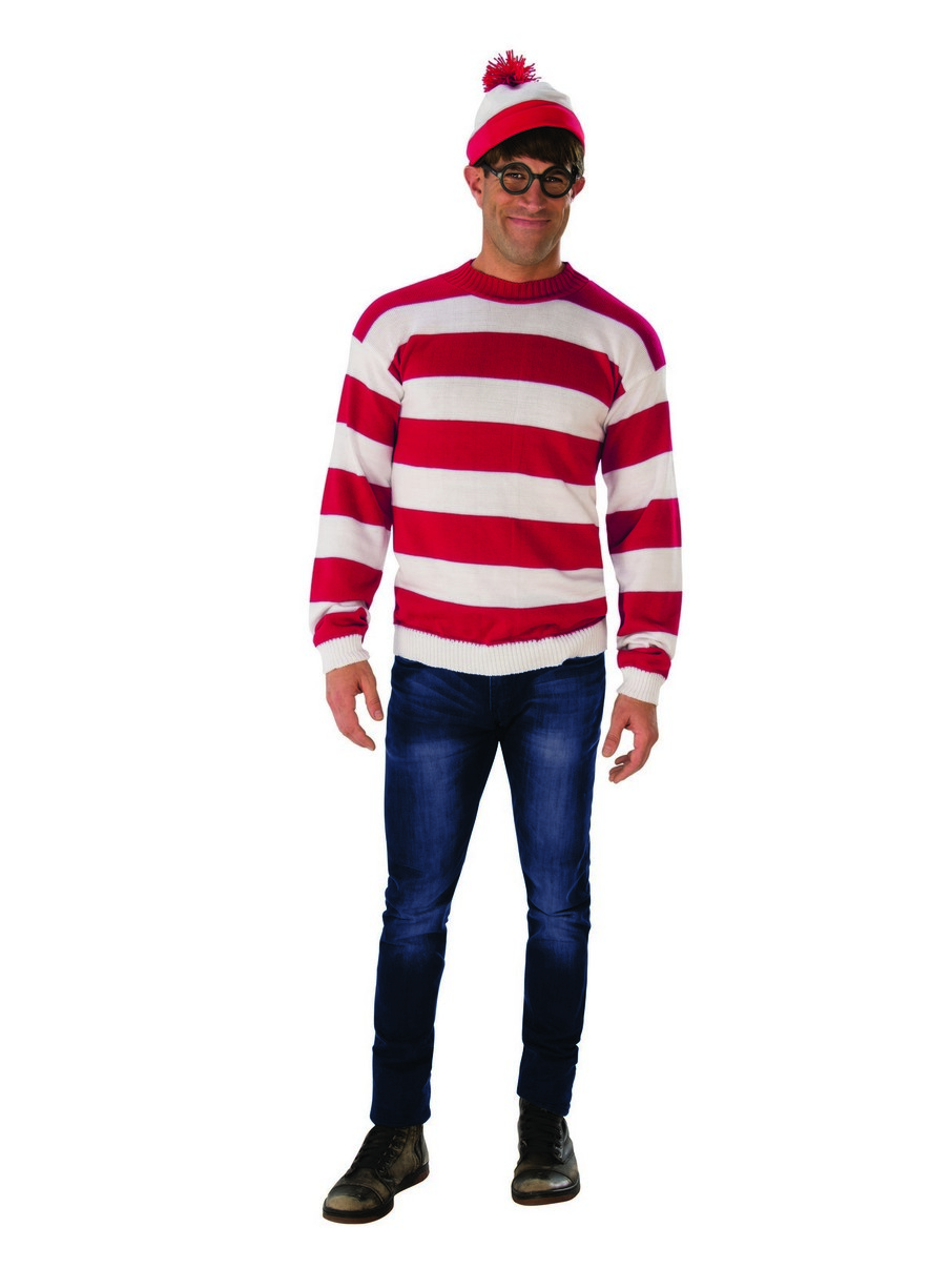 View larger image of Adult Where's Waldo Deluxe Costume